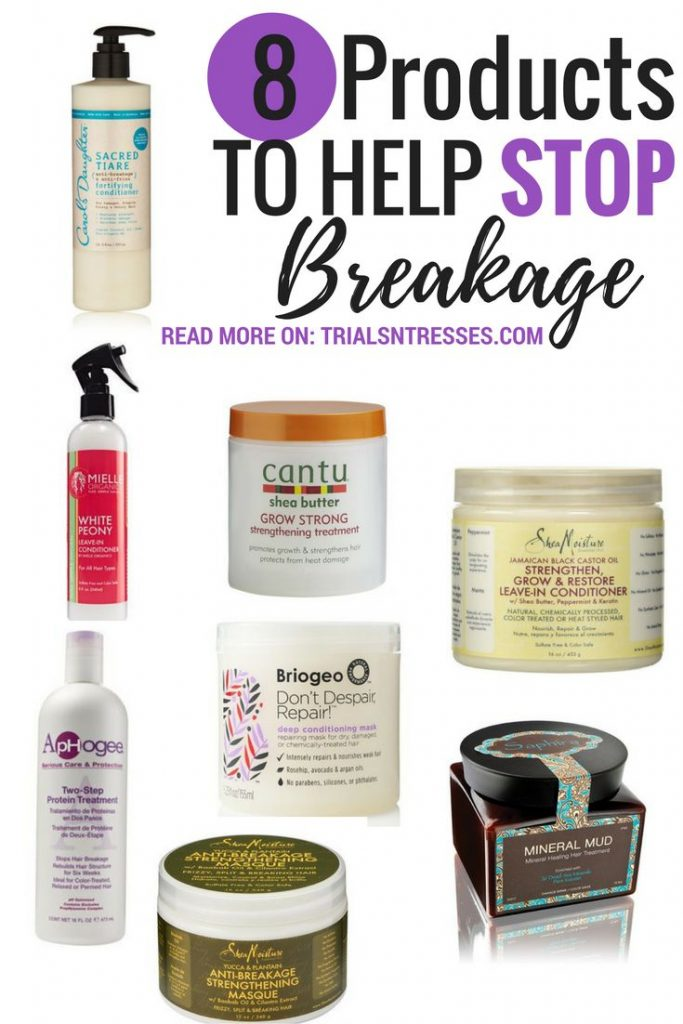 8 Products To Help Stop Breakage Everything Natural Hair