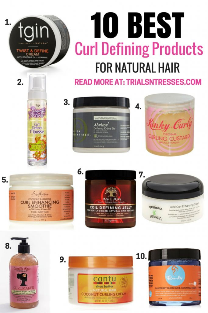 Best Curl Defining Products For Natural Hair C