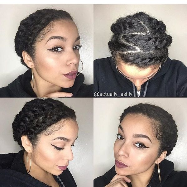 Summer Hairstyles for Short or Long 4B/4C Natural Hair ...