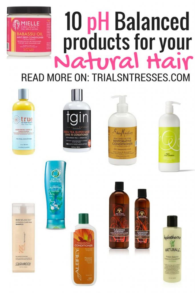 10 Ph Balanced Products For Your Natural Hair
