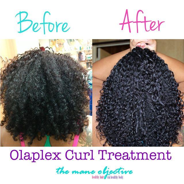 Natural Hair Softening Treatment