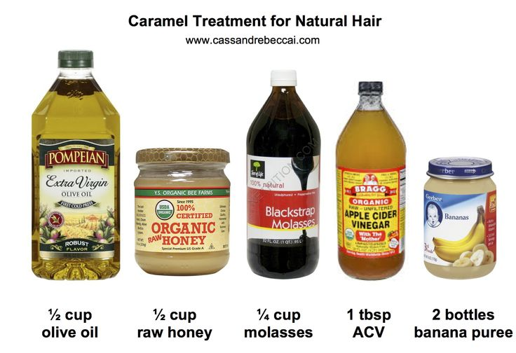 Diy Caramel Treatment On Natural Hair