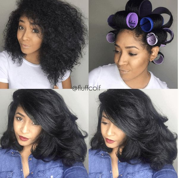 black hair roller set styles amazing roller set on hair everything hair 9034