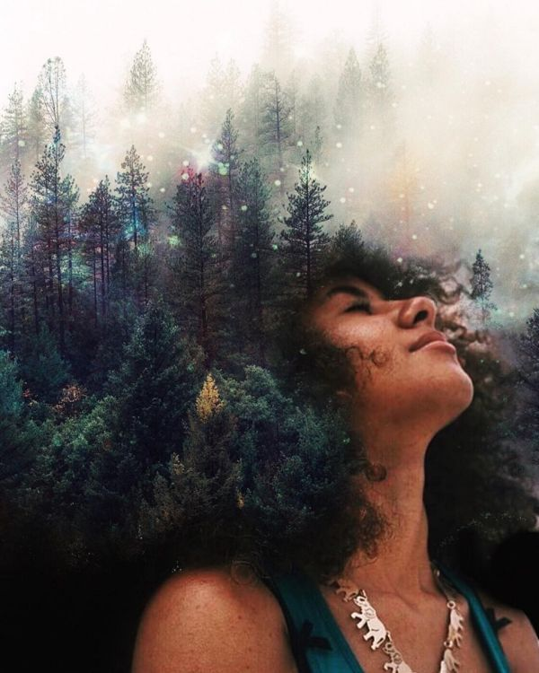 Artist Paints Incredible Portraits Of Nature In Black