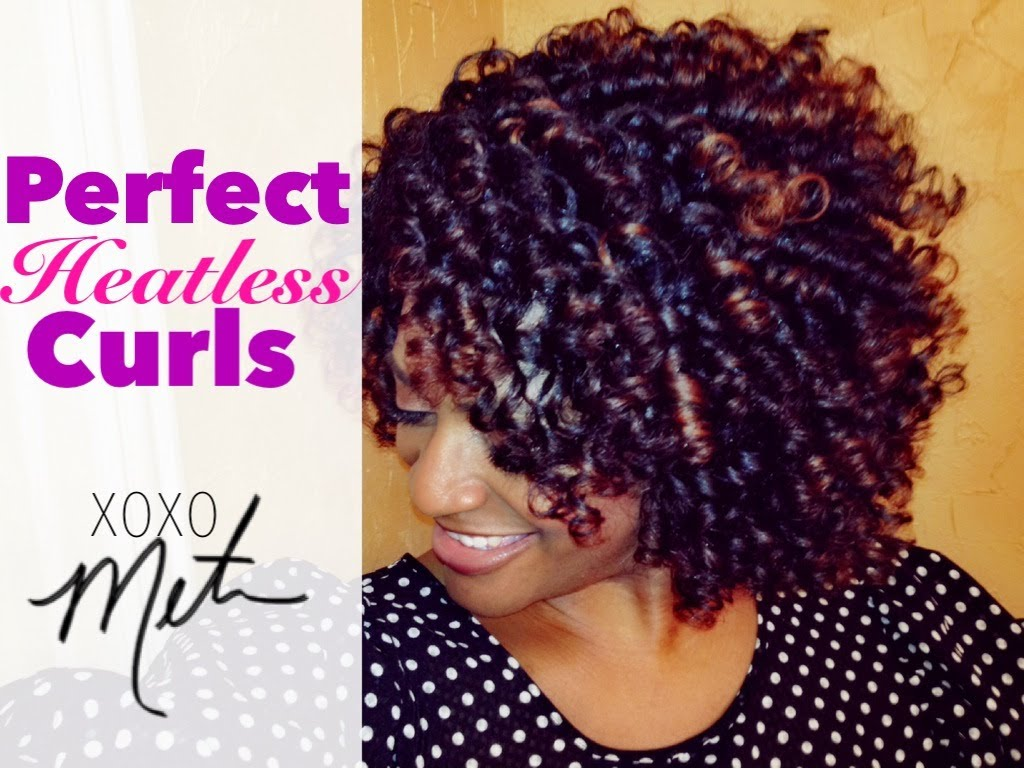 Super 28 Natural Hair Tutorial Perfect Heatless Curls Flexi Rod Set Natural Hairstyles Runnerswayorg