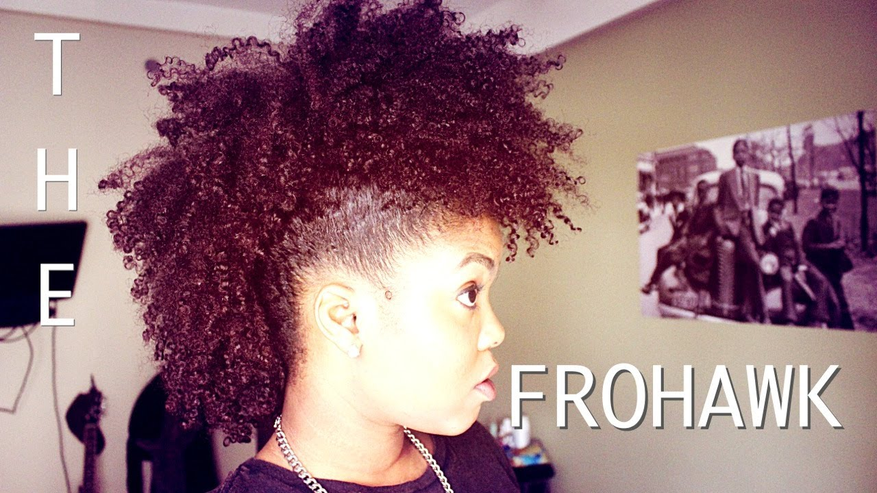 Natural Hair The Frohawk Everything Natural Hair