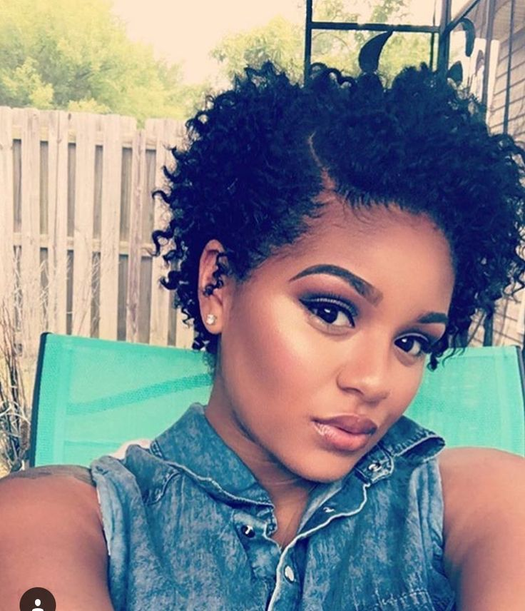 Very Short Haircuts For Black Women With Natural Hair Coiffure 2019