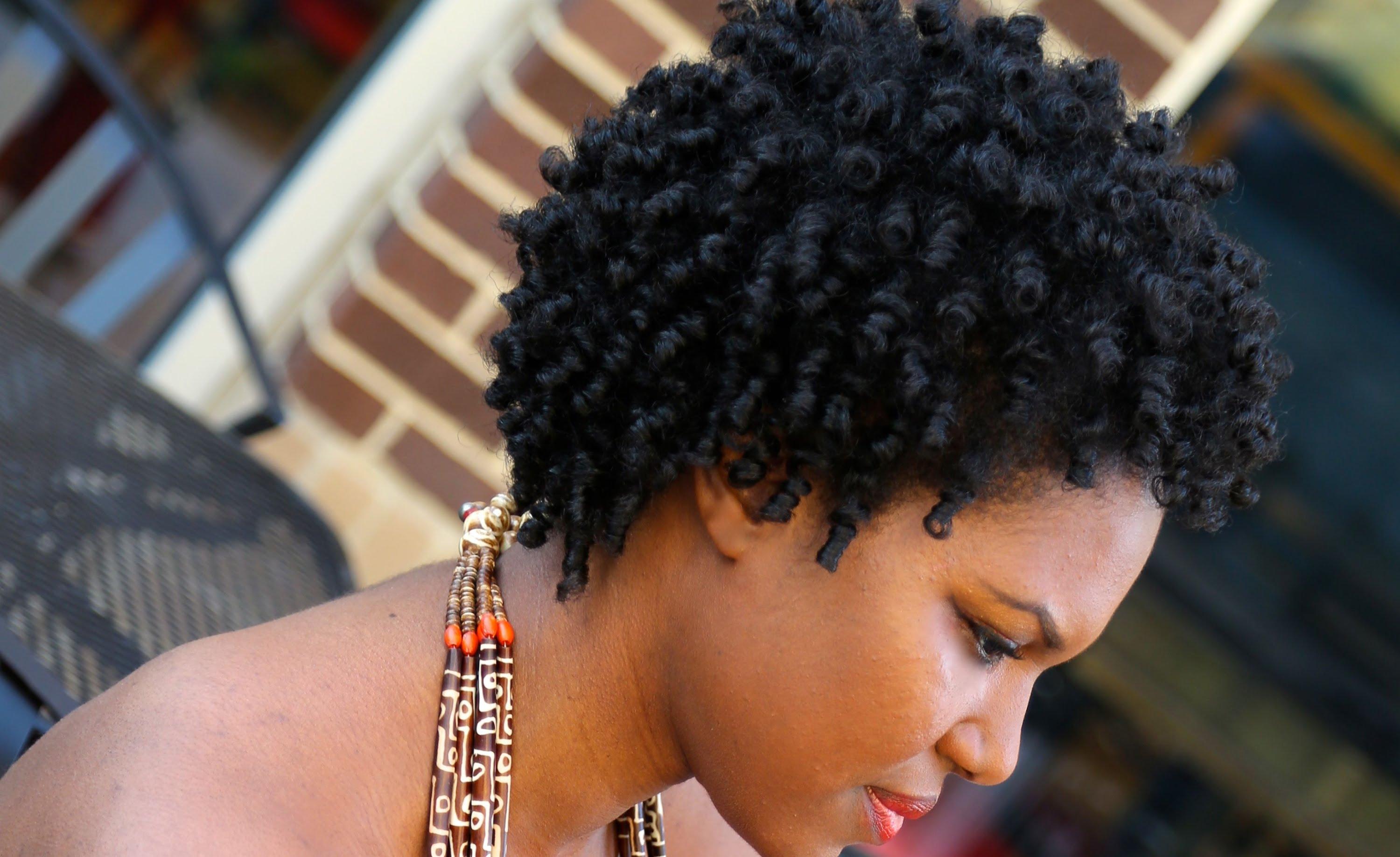 Natural Hair 4c Heatless Coily Perm Rod Set Tutorial Everything Natural Hair