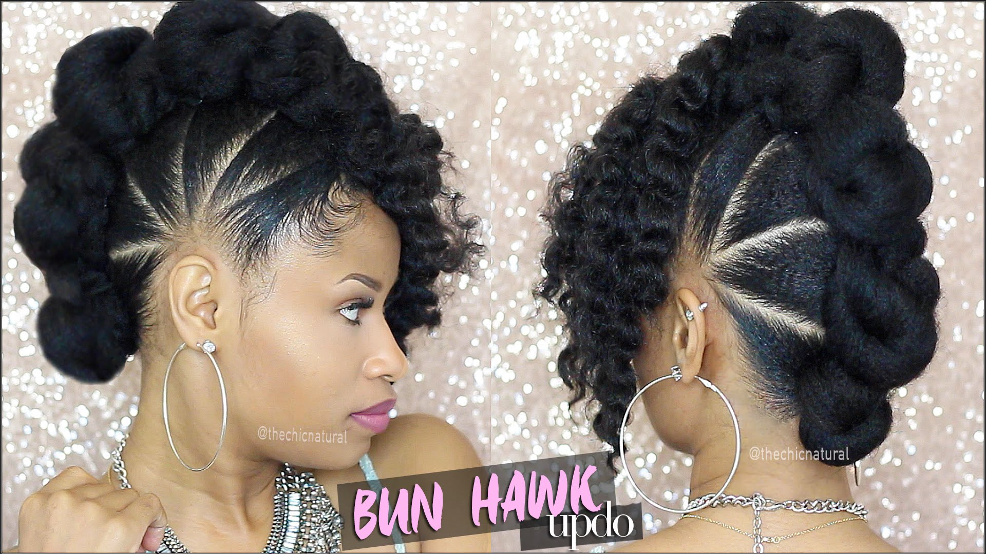 Remarkable Bad Azz Bun Hawk Updo Natural Hair Tutorial Everything Schematic Wiring Diagrams Amerangerunnerswayorg