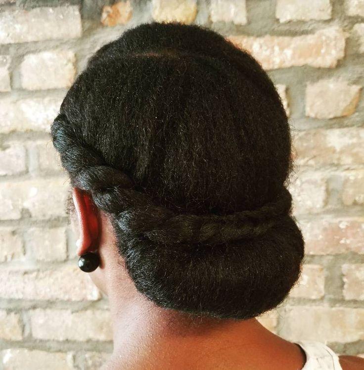 50 cute updos for natural hair everything natural hair sharing urmus Images