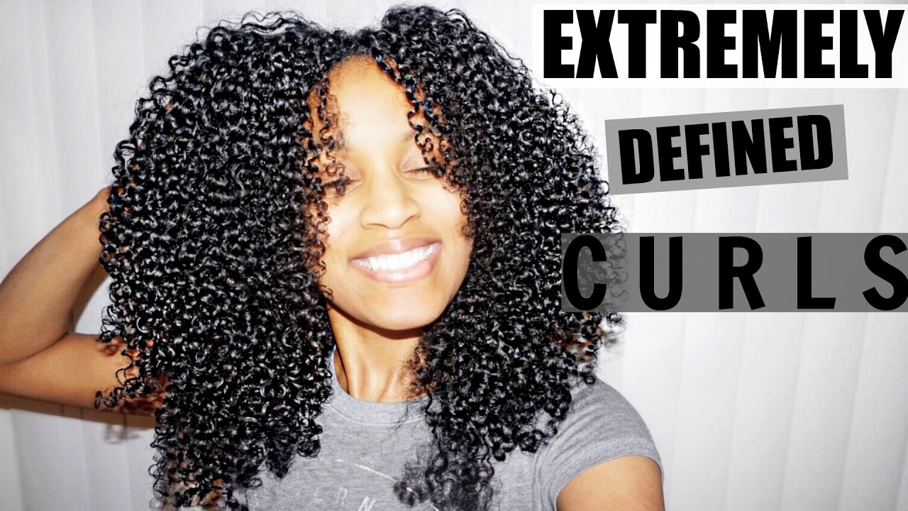 Shingling Method For Extremely Defined Curls All Natural
