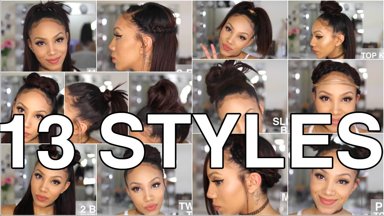 Ways To Style Straight Hair Up To 77 Off Free Shipping