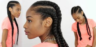 Cornrows With Extensions On Short Hair Archives Everything Natural Hair
