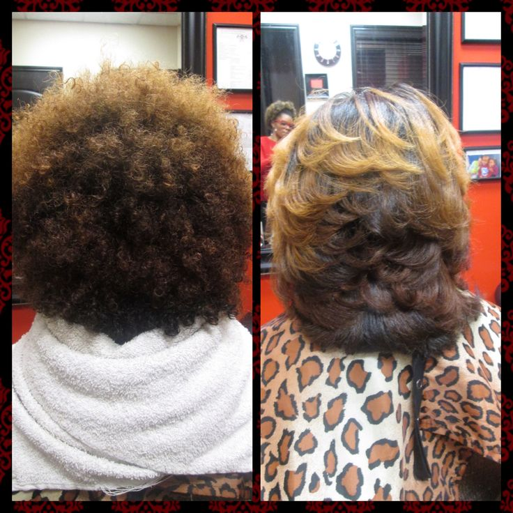 Before And After Natural Hair Blowout Www Styleseat Com Everything Natural Hair
