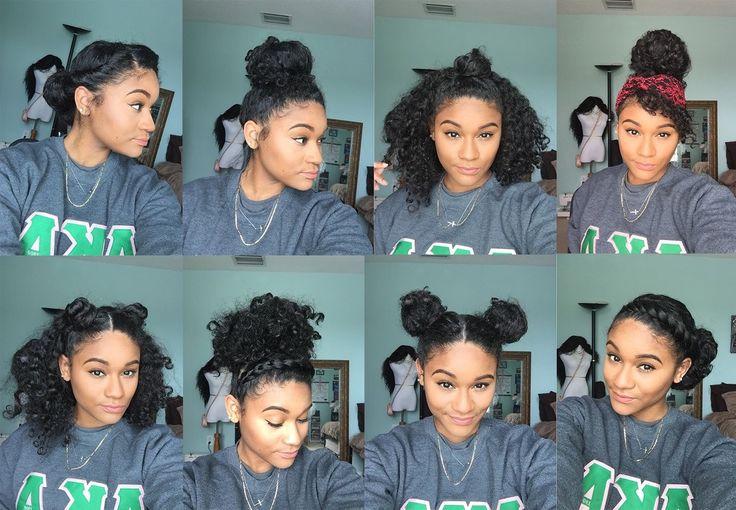 Natural Hair 8 Bun Styles For Curly Hair Everything Natural Hair