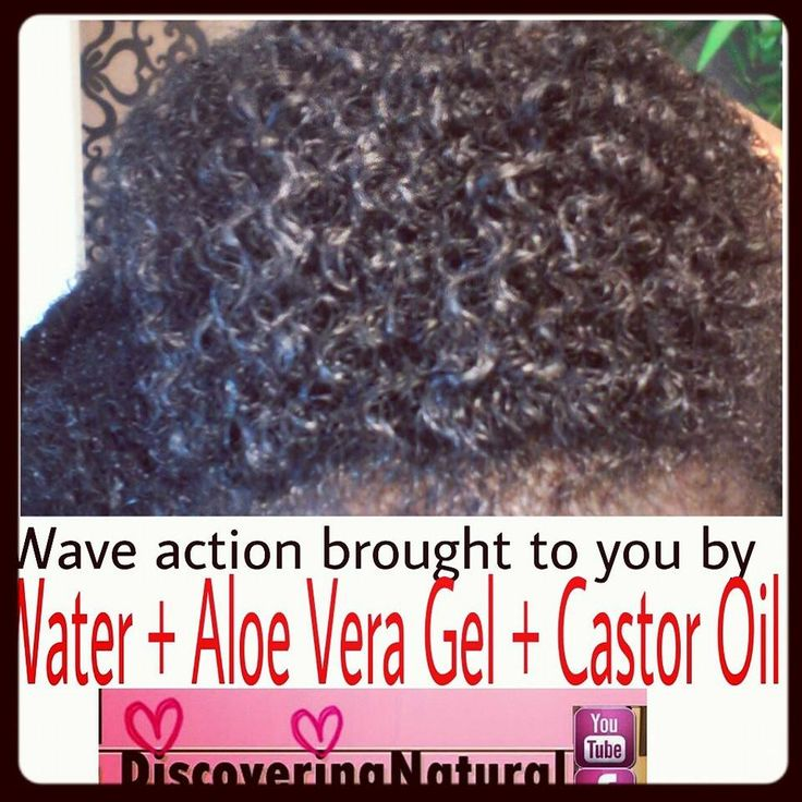 Natural Hair Waves Curl Definition Using Water Aloe Vera Gel And Castor Oil Everything Natural Hair