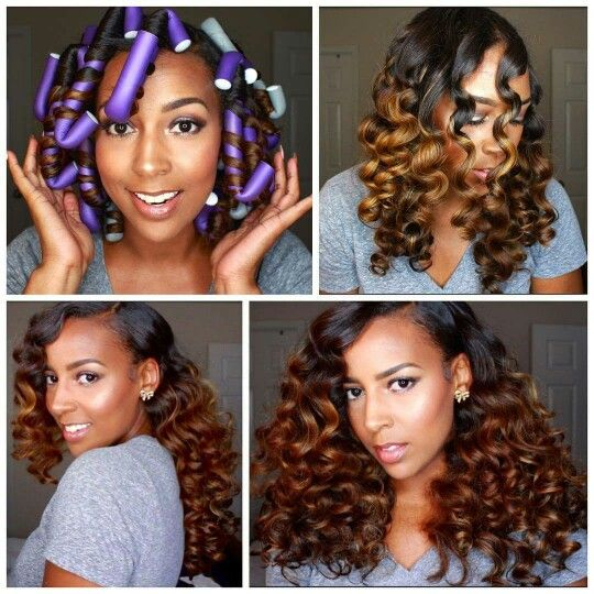 Flexi Rods On Natural Hair Everything Natural Hair