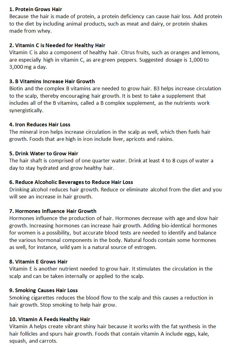 how to grow healthy hair - Everything Natural Hair