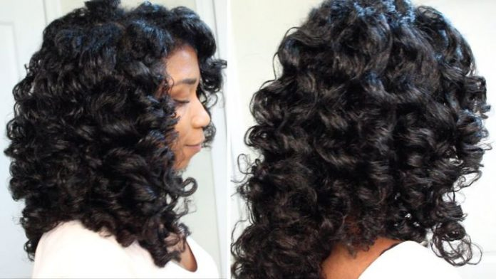 Peachy How To Cheat A Perm Rod Set Easy Technique Heatless Soft Curls Natural Hairstyles Runnerswayorg