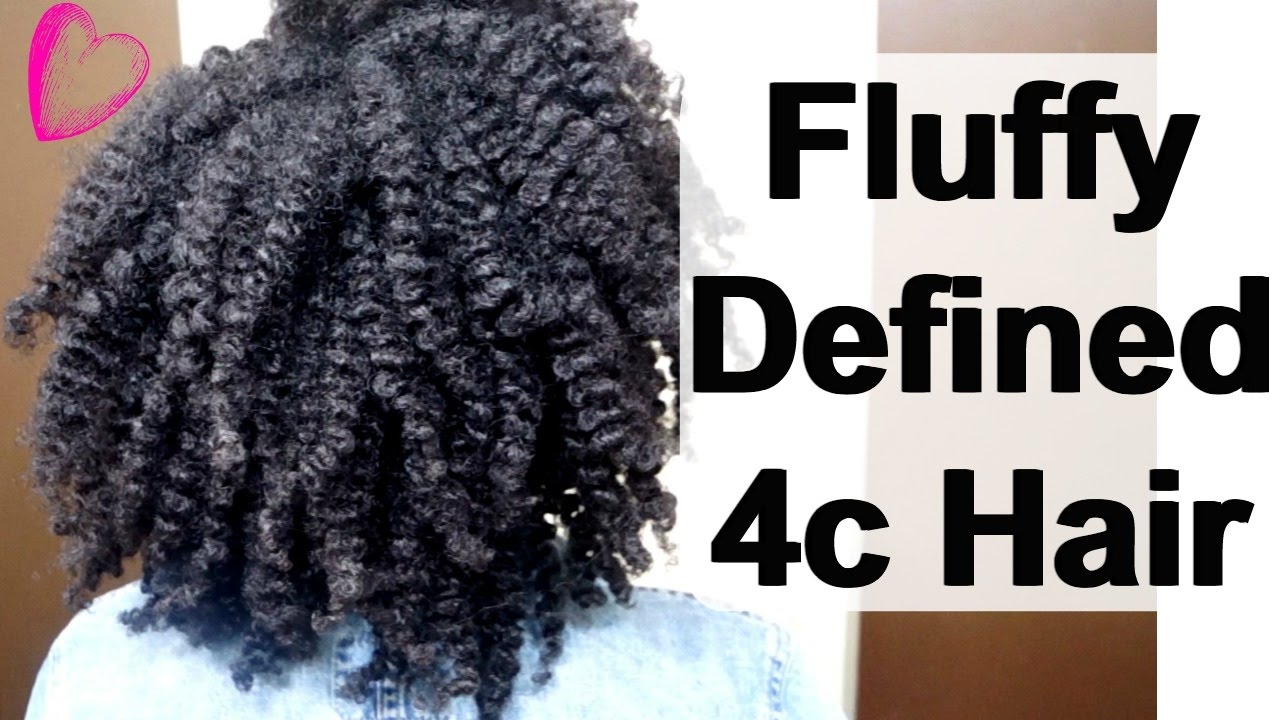 A Defined Flat Twist Out Tutorial On 4c Natural Hair In 5
