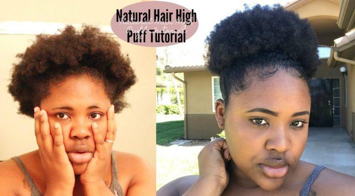 High Puff On Short Natural Hair Short Hairstyle Ideas